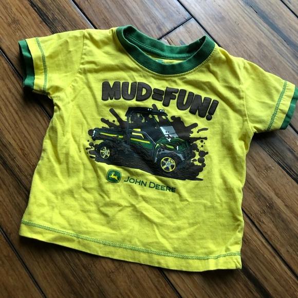 John Deere mud mudding shirt